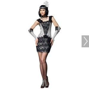HGM Costume Size Medium Roaring 20's Flapper